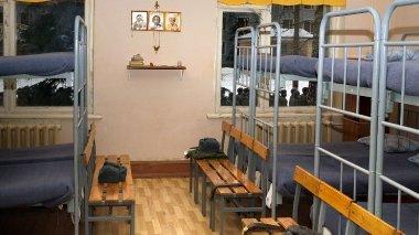 Вид казармы Семеновского полка изнутри