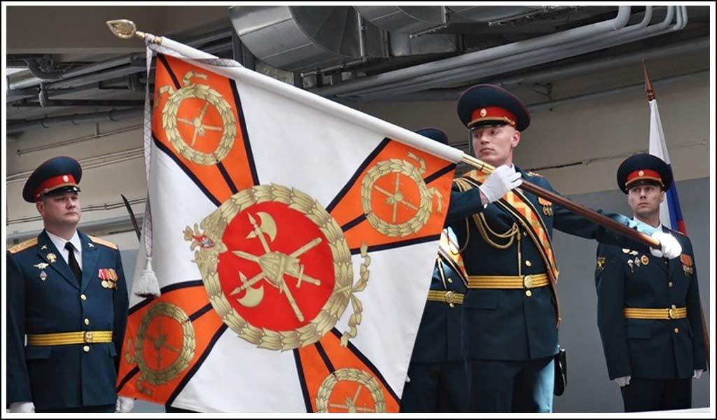Боевое знамя Семеновского полка (в/ч 75384)