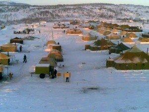 фото палаточного лагеря