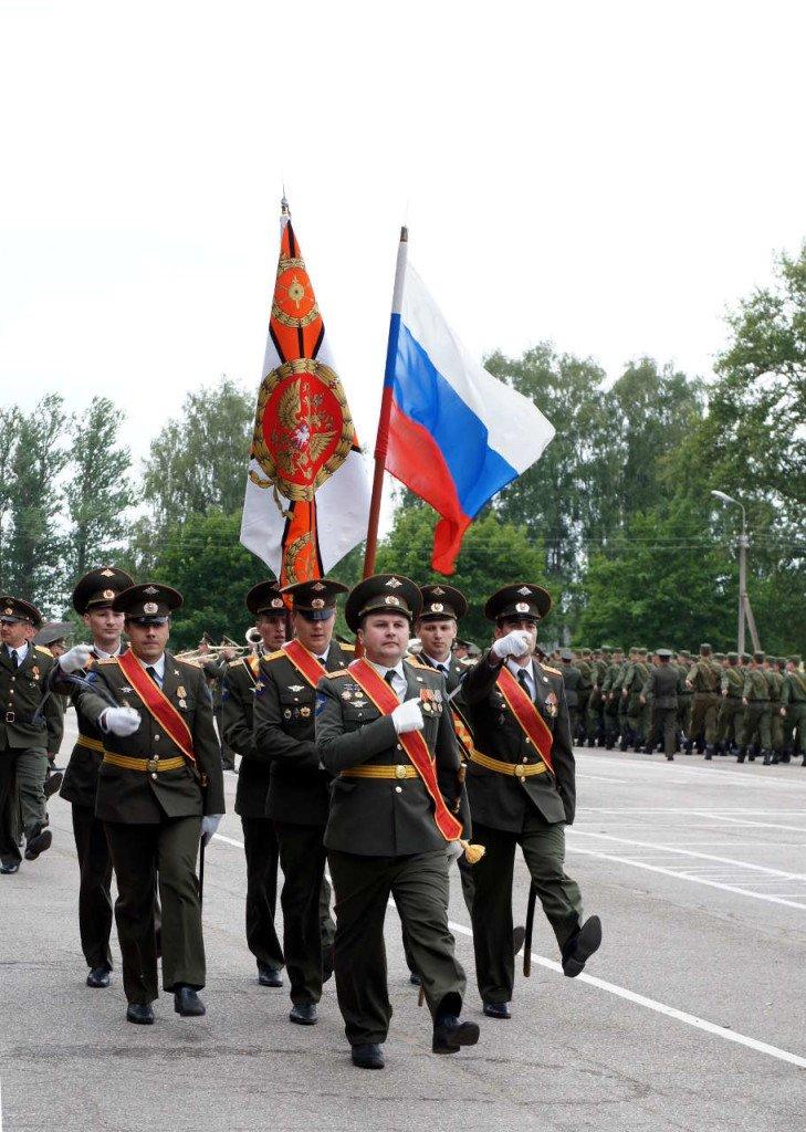 ВЧ 35700. Фото боевого знамени