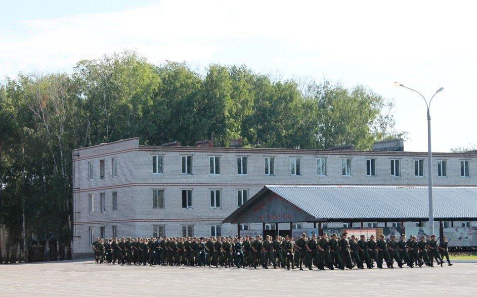 ВЧ 64120. Фото на территории части