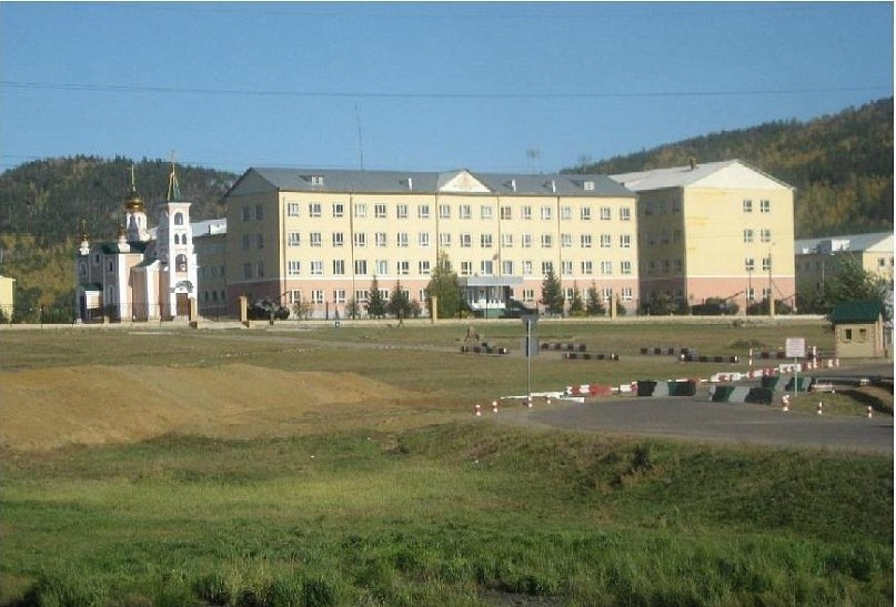 ВЧ 21250. Вид на штаб 212-го ОУЦ