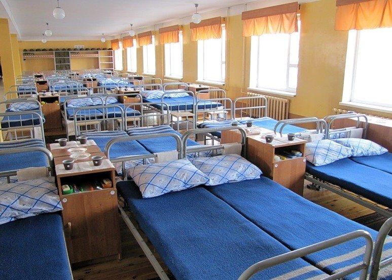 ВЧ 21250. Спальное расположение бойцов части
