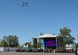 Фото ВЧ 28337. Празднования по случаю юбилея полка
