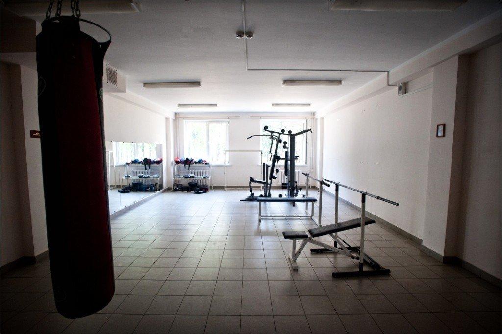 Фото ВЧ 28337. Тренировочный зал в части