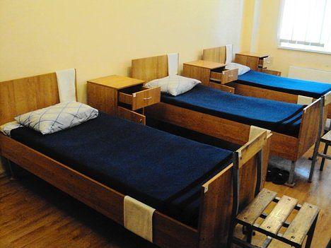 ВЧ 19612. Спальные места бойцов части