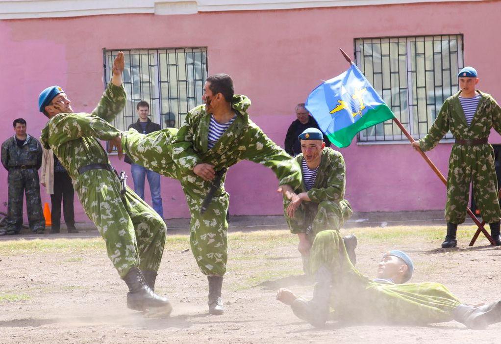 Фото ВЧ 32364. На военно-спортивном празднике УУИЖТ