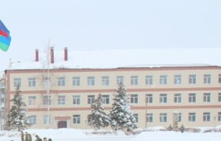 ВЧ 41450. Здание одного из общежитий полка