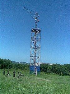 Фото ВЧ 71289. Тренировочная парашютная вышка