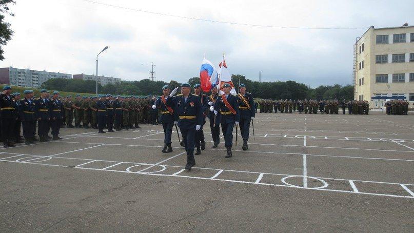 Фото ВЧ 71289. Церемония присяги на верность Российской Федерации