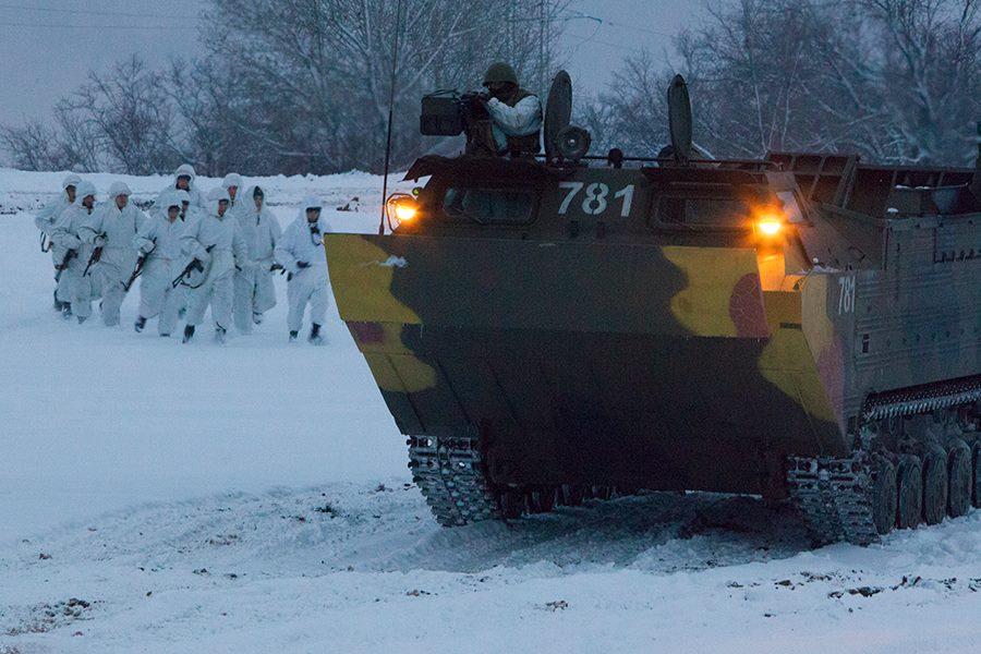 Фото ВЧ 73420. Занятия по боевой подготовке в 187-м МРУЦ