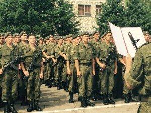 ВЧ30632-3. Присяга в 392-м ОУЦ подготовки младших специалистов танковых войск