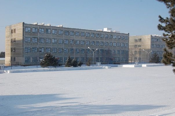 ВЧ30632-3. Здания казарм части