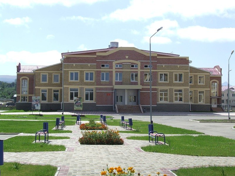 ВЧ 01485. Здание клуба части