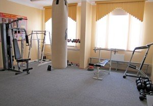 ВЧ 01485. Типовой спортзал на этаже