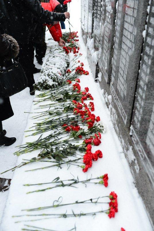 ВЧ 02511. На мемориале в память павшим воинам