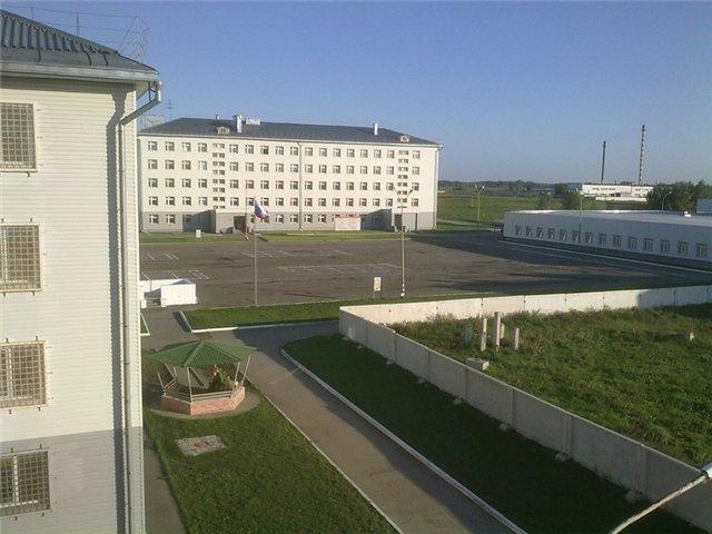ВЧ 21005. Вид на одну из казарм 74-й ОМСБр