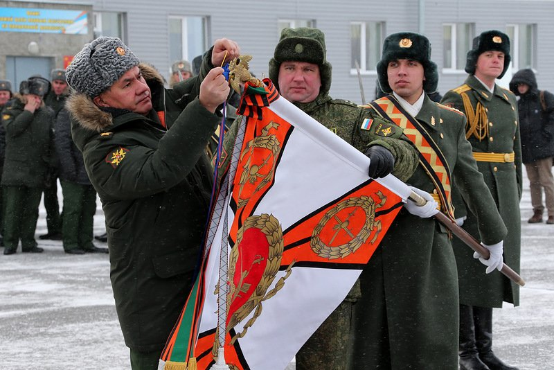 ВЧ 21005. Награждение 74-й мотострелковой бригады орденом Кутузова