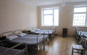 ВЧ 41516. Спальное расположение солдат в казарме