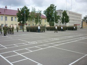 ВЧ 54046. На церемонии принятия присяги на верность РФ