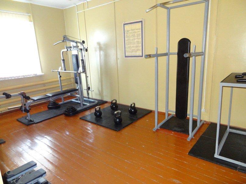 ВЧ 54046. Спортивная комната бригады