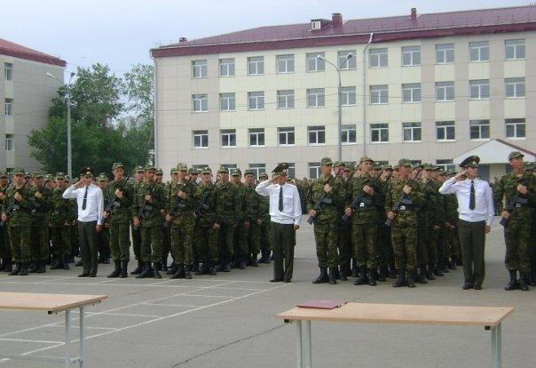 ВЧ 65349. Бойцы 23-й ОМСБр принимают присягу