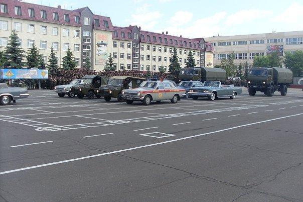 ВЧ 83466. День военного автомобилиста