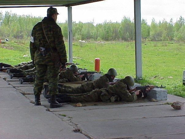 ВЧ 83466. Учебные занятия по стрельбе