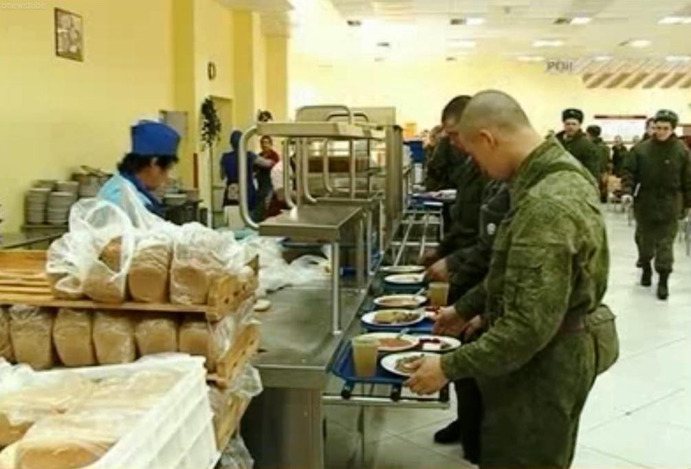 ВЧ 90600. Организация приема пищи в вч