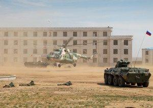 Военные антитеррористические учения «Мирная миссия-2014»