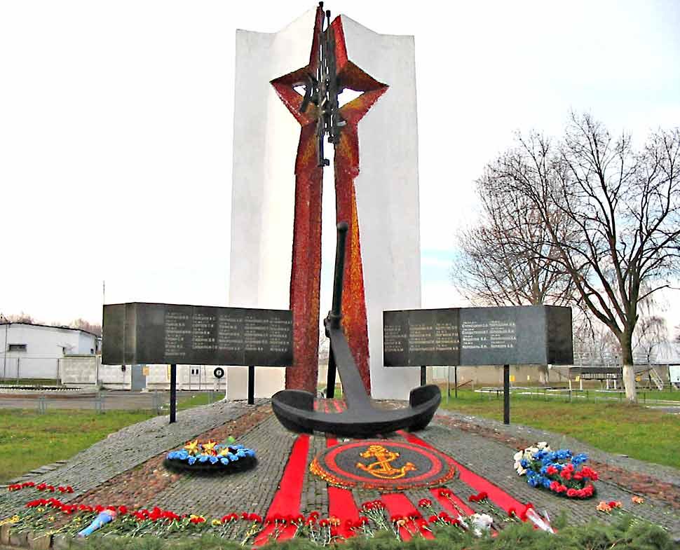 ВЧ 06017. Памятная стела морским пехотинцам, погибшим на Северном Кавказе
