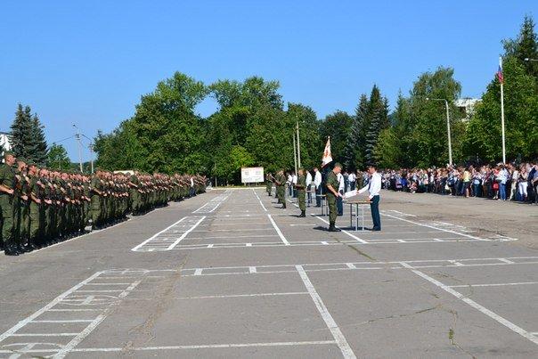 ВЧ 19612. Военная присяга в в/ч