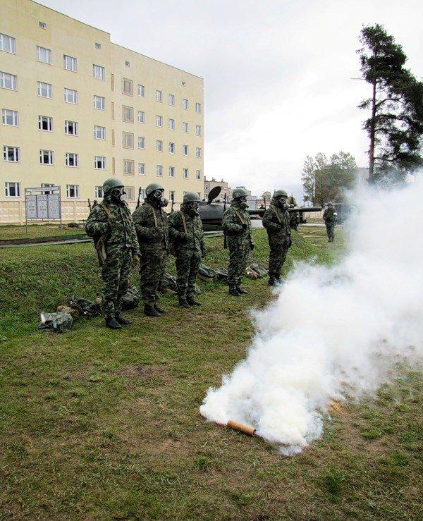 ВЧ 23626. Солдаты части на занятиях