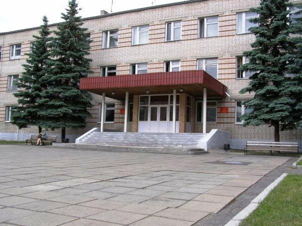 ВЧ 30616-6. Здание штаба полка