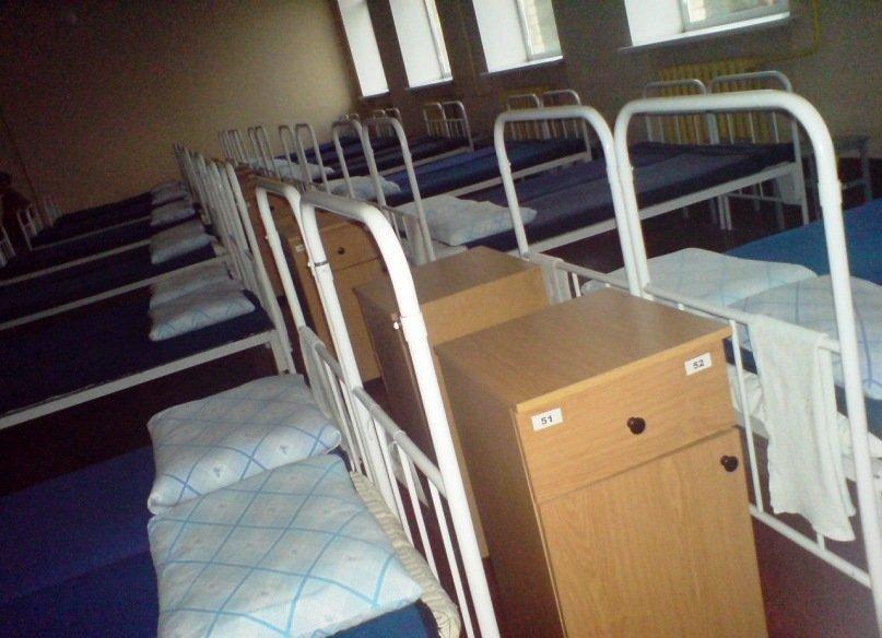 ВЧ 30616-6. Расположение солдат учебного полка