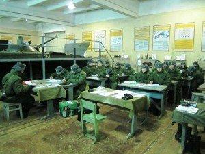 ВЧ 30616-6. Рота на занятиях