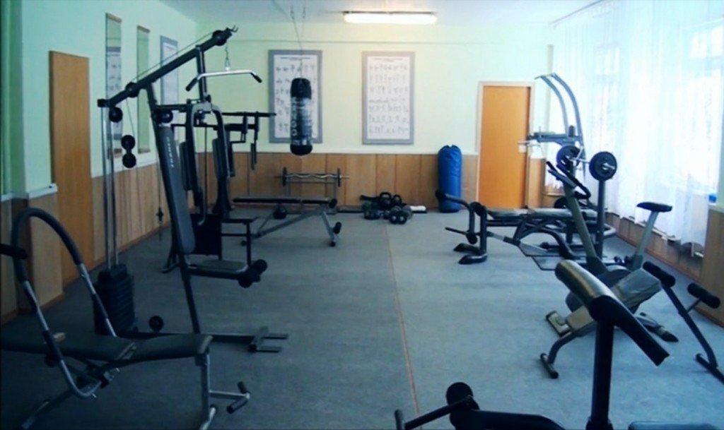 ВЧ 30616-7. Спортивная комната части