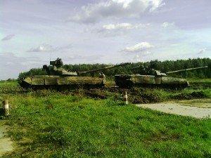 ВЧ 30616-8. Занятия по танковому вождению