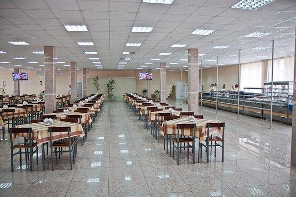 ВЧ 31134. Зал для приема пищи полка