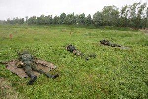 ВЧ 31134. Обучение бойцов стрельбе