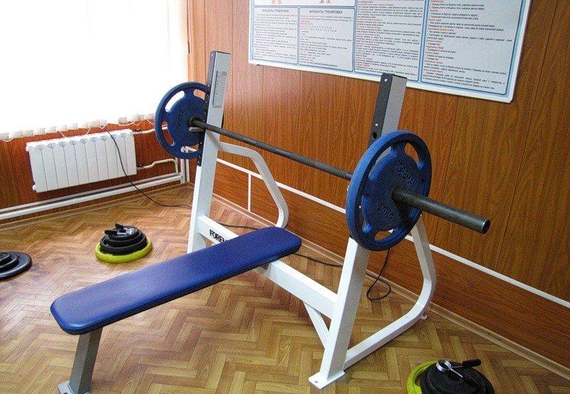 ВЧ 31134. Спортивный уголок в казарме