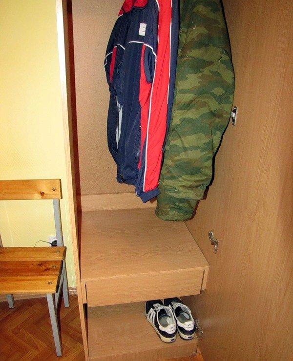 ВЧ 31134. Шкаф в кубрике части