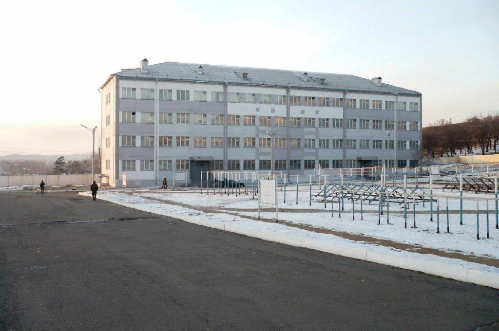 ВЧ 46102. Здание казармы 57-й ОМСБр