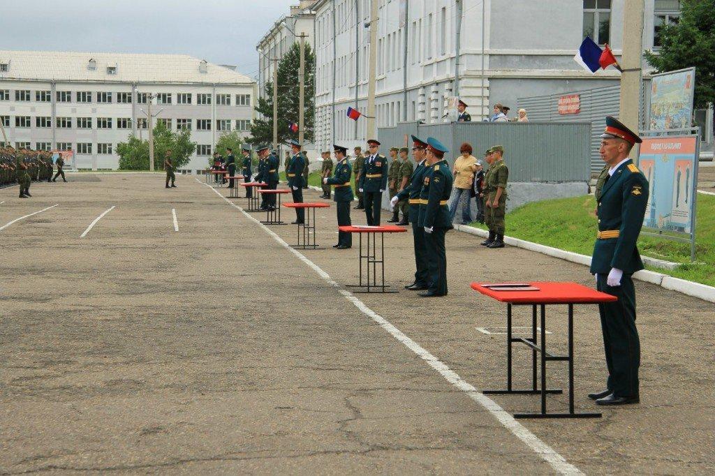ВЧ 46102. Присяга в воинской части 46102