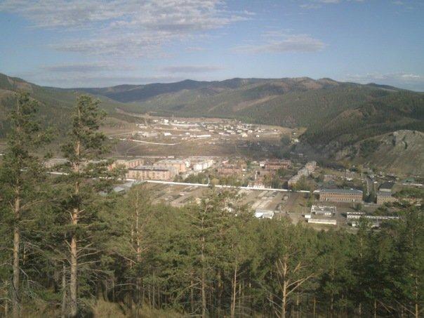 ВЧ 46108. Вид на военный городок