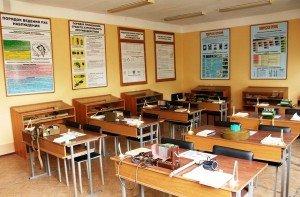 ВЧ 51532. Один из учебных классов