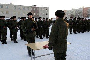 ВЧ 10103. Присяга в бригаде морской пехоты