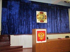 ВЧ 17646. В клубе воинской части