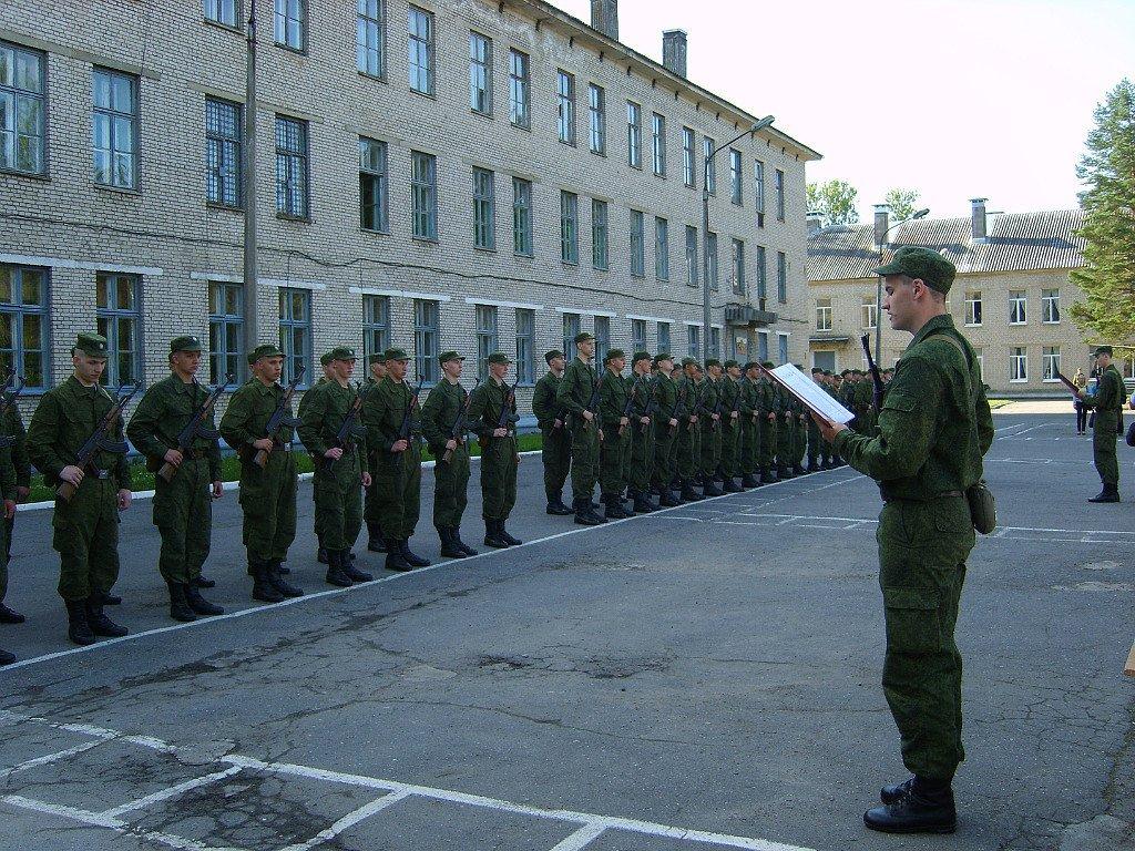 ВЧ 17646. Церемония принятия присяги солдатами в/ч