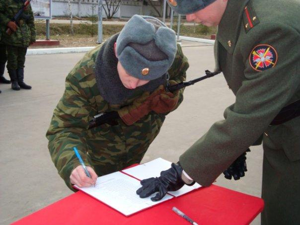 ВЧ 34608. Ритуал приведения новобранцев к военной присяге